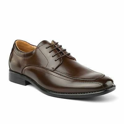 BRUNO MARC Business Casual Leather Lined Shoes