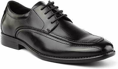 BRUNO MARC Business Lace Leather Lined Shoes