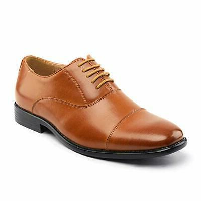 Bruno Mens Dress Lace-up Oxford Shoes