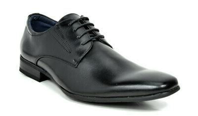 mens leather oxford shoes formal lace up