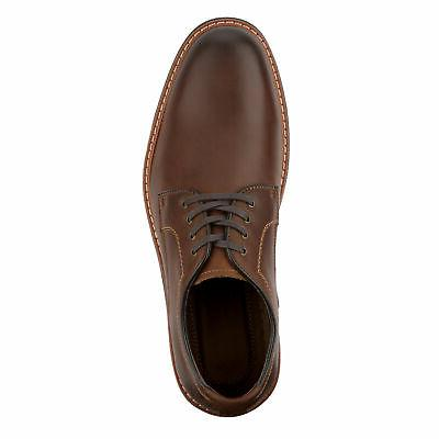 Dockers Mens Morrison Genuine Leather Casual Lace-up Oxford Shoe with