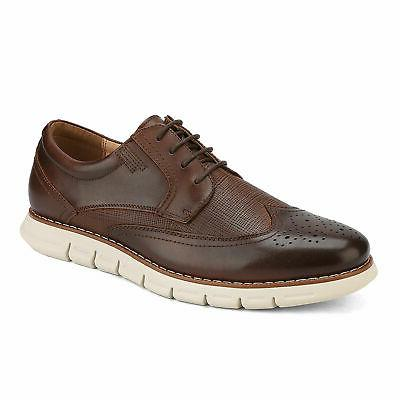 Bruno Marc Men Genuine Leather Oxford Dress Sneakers Casual