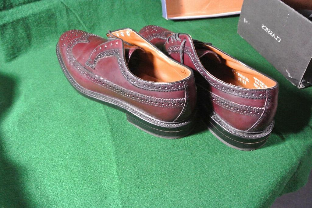 Bostonian Mens Shoes Burgundy Fenwick 10.5
