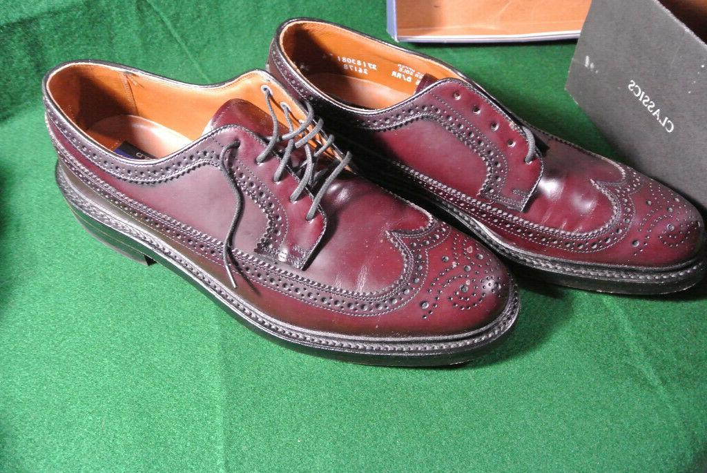 Bostonian Mens Shoes Burgundy Size 10.5 B