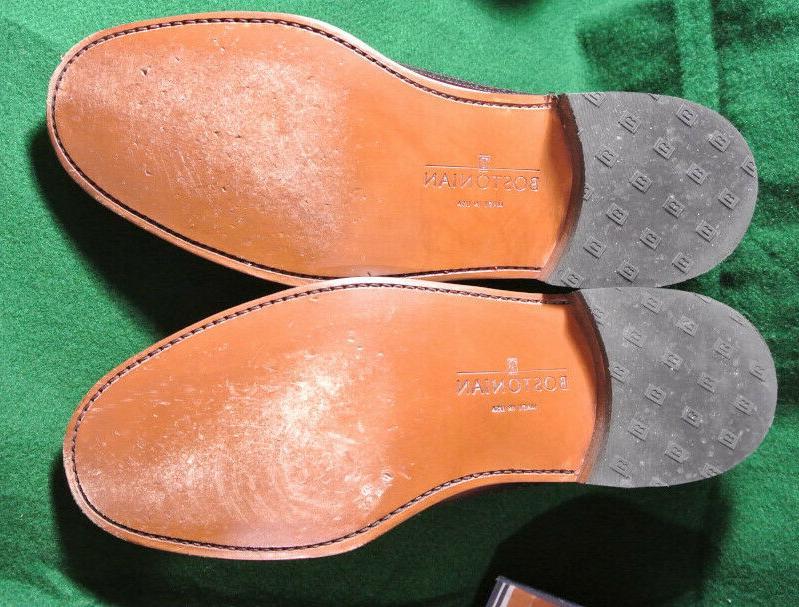 Bostonian Oxford Leather Shoes Burgundy Fenwick 10.5 B 26178