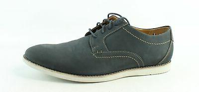 mens raharto blue nubuck oxford dress shoe
