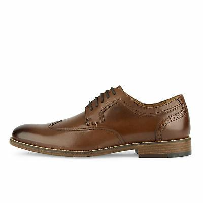 Dockers Leather Dress Rubber Lace-up Wingtip