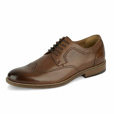 mens ryland leather dress rubber sole lace