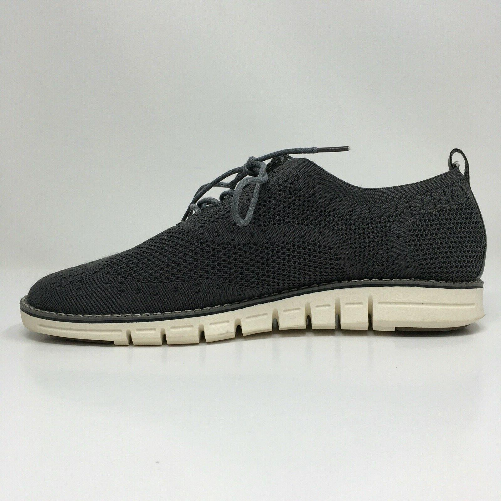 Hawkwell Shoes Gray Knit Oxford Goods 9