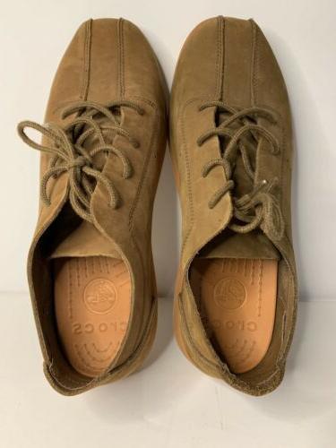 Crocs Men's Size 12 Venture Brown Sneakers