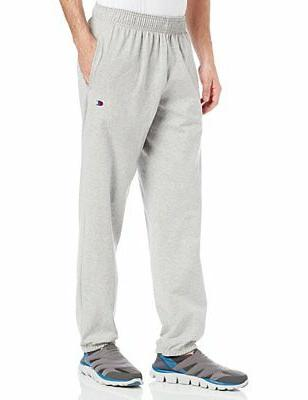 Champion Mens Sweat-pants Closed Bottom W pockets Size S-4X
