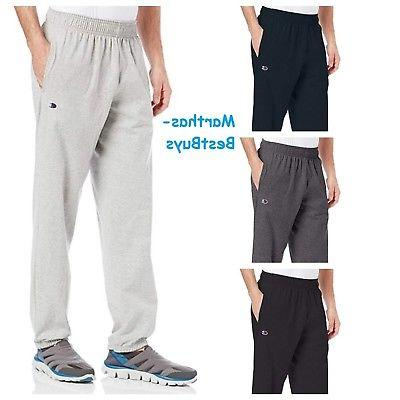 mens sweat pants closed bottom light weight