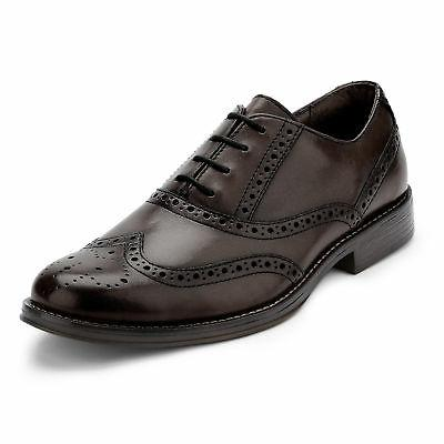 Dockers Mens Thatcher Polished Business Wingtip Lace-up