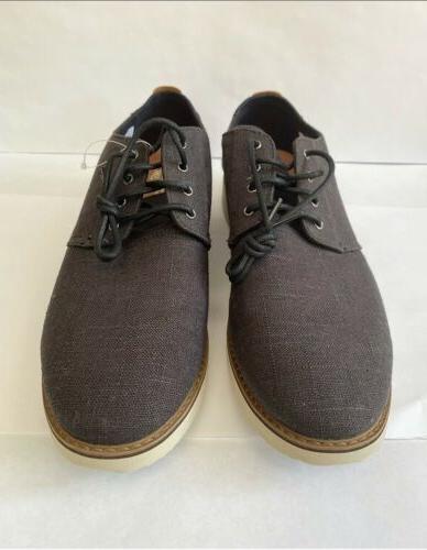 Mens Linen Shoes Size US13 EU46