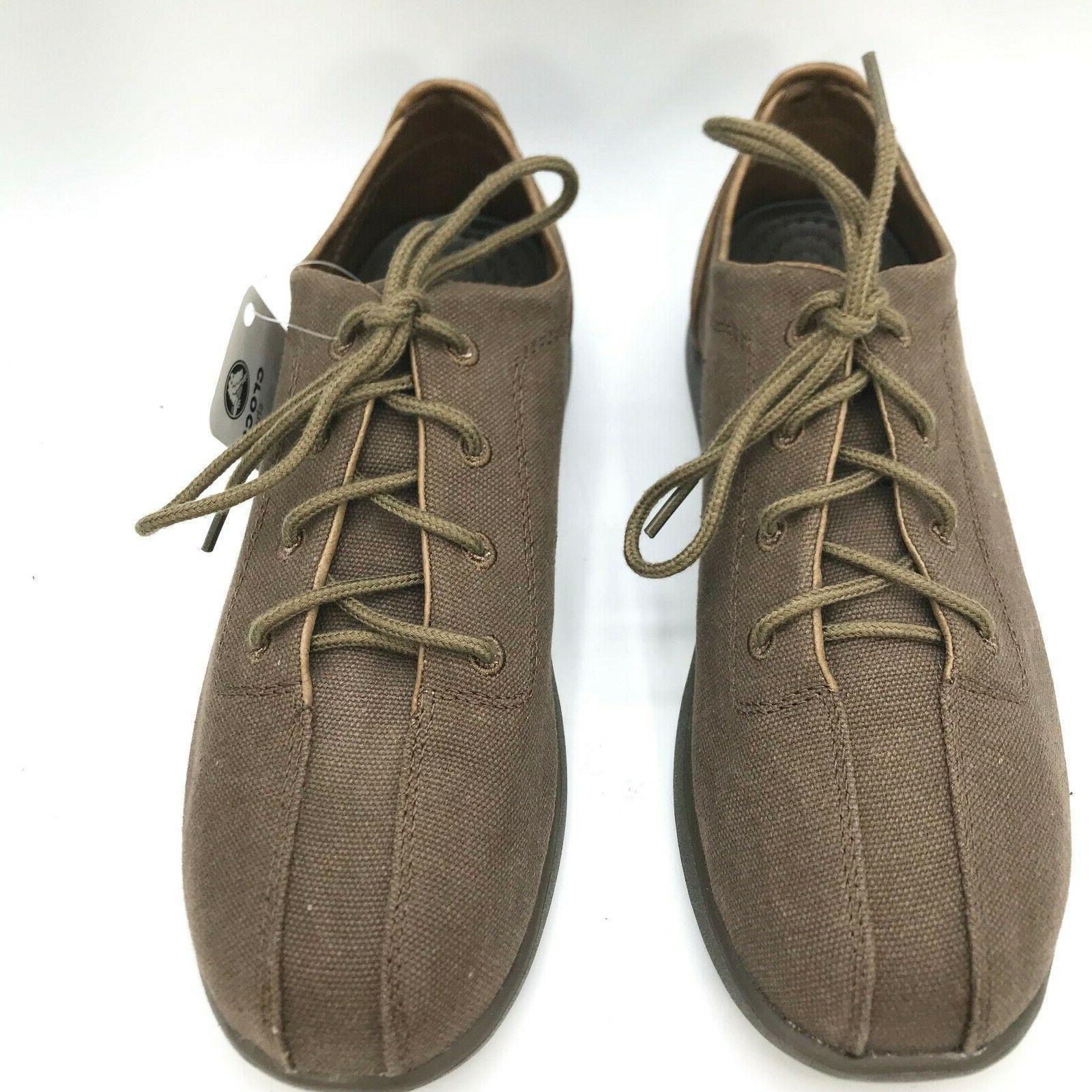 CROCS Casual Canvas Up Shoe
