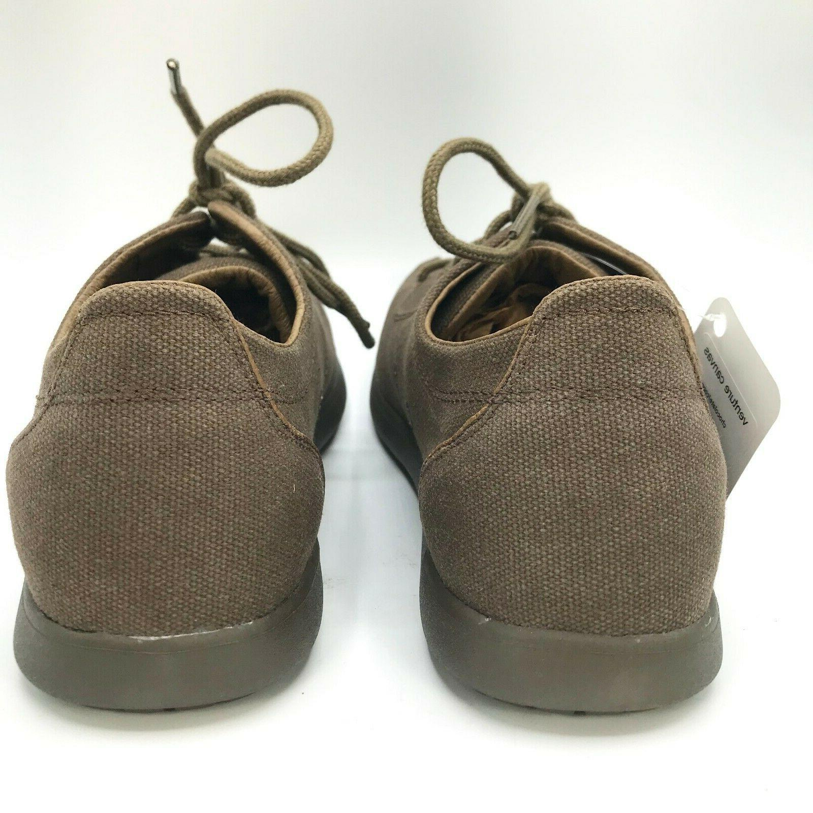 CROCS Canvas Chocolate Up Shoe 8