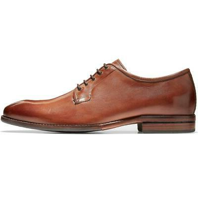 mens warner grand postman leather lace up