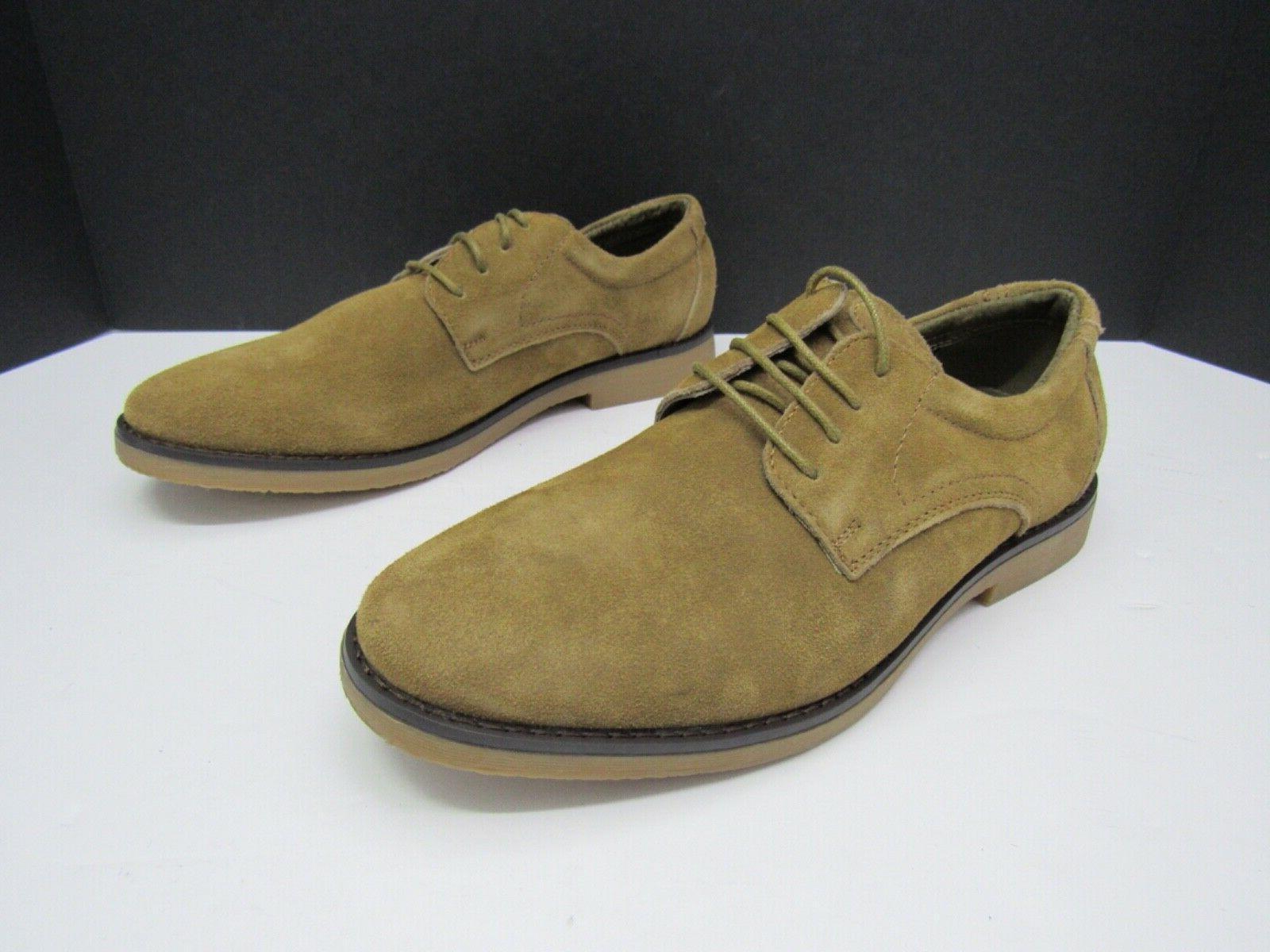 BRUNO YORK Mens Brown Oxford Size 8