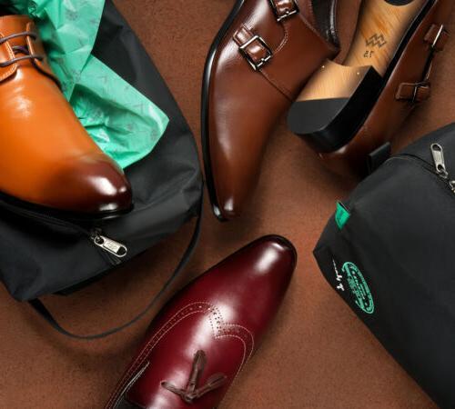Mio Marino Oxford Dress Leather in Bag