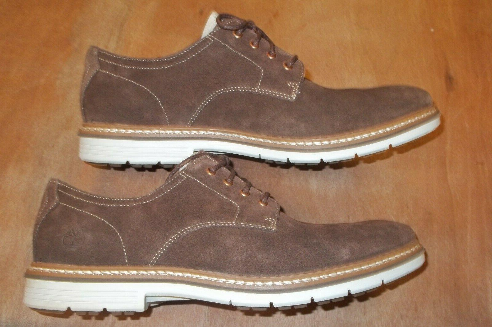 TIMBERLAND Oxford Shoes Suede Leather Men's Size 13.M Brown