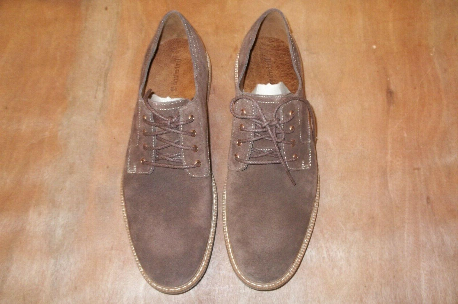 naples trail oxford shoes suede leather men
