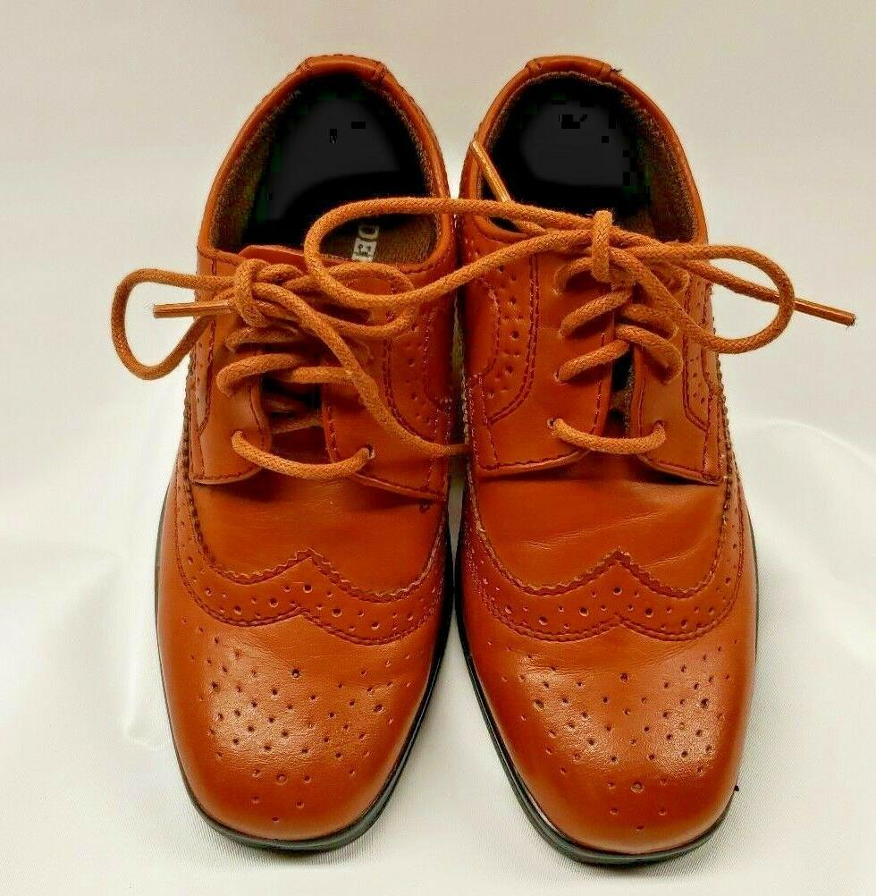 New Deer Ace Boys Luggage Lace Up Shoes
