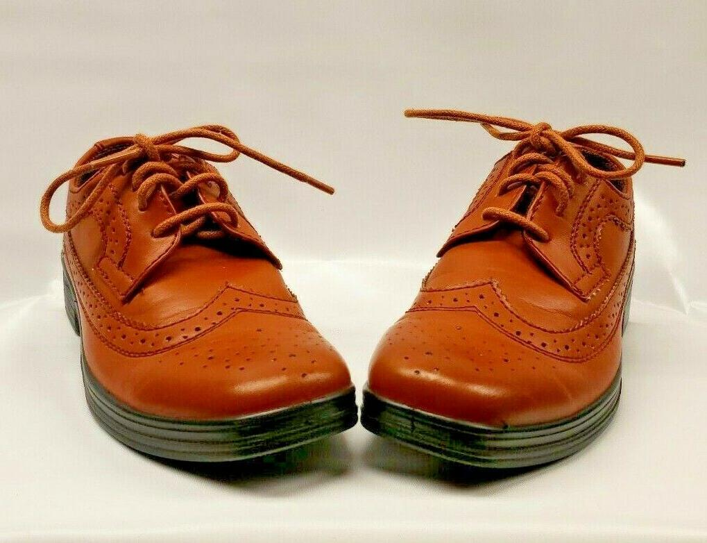 New Stags Ace Boys Luggage Wing Tip Lace Dress