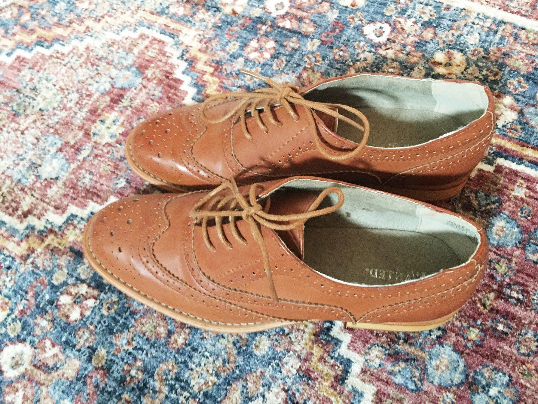 Up Oxford Vegan Shoes