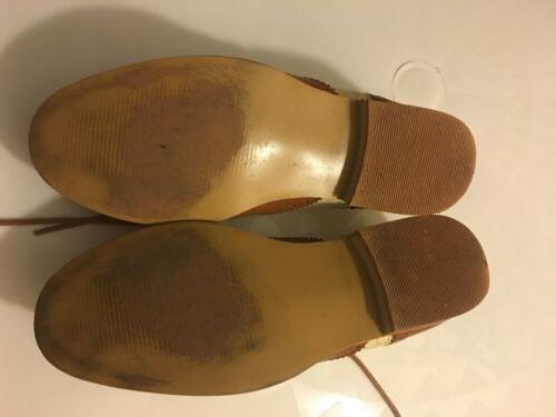 SHOES TAN CLASSIC OXFORD US