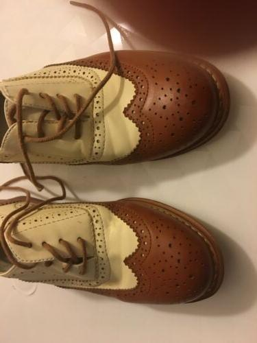NEW WANTED CLASSIC FLAT OXFORD LACE-UP US 7