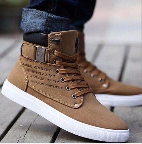 New Fashion Casual Leather Shoes Canvas