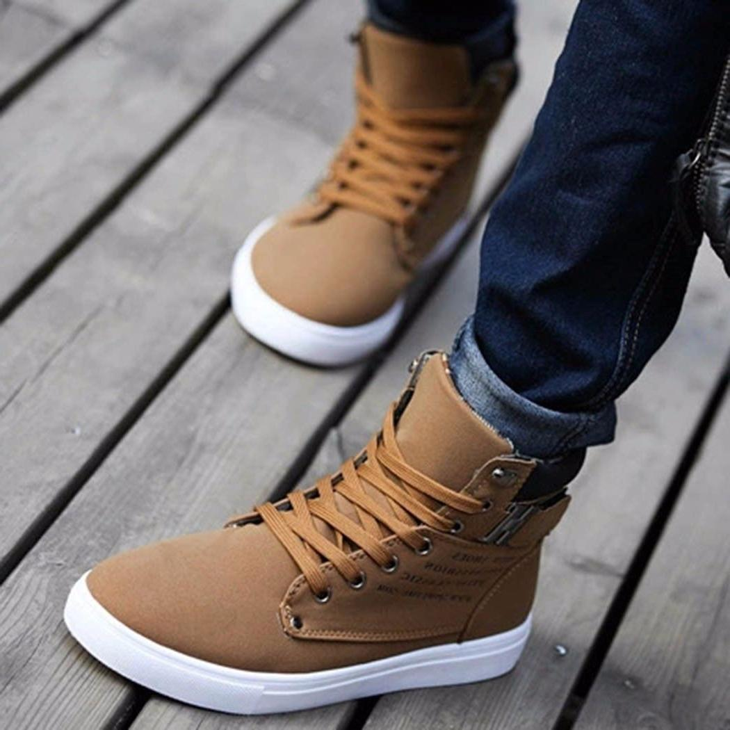 Casual High Top Leather