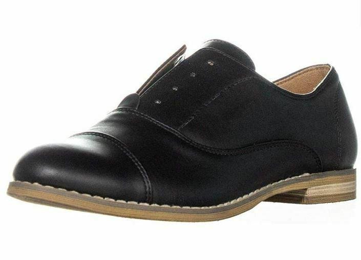 NEW Indigo Hacksy Almond Shoes Black - SIZE 8.5