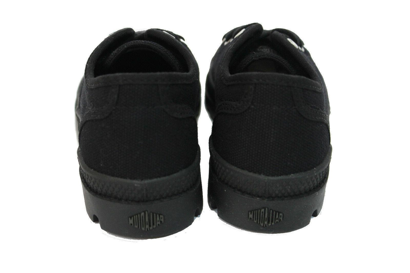 Black Canvas Shoes 12.5,