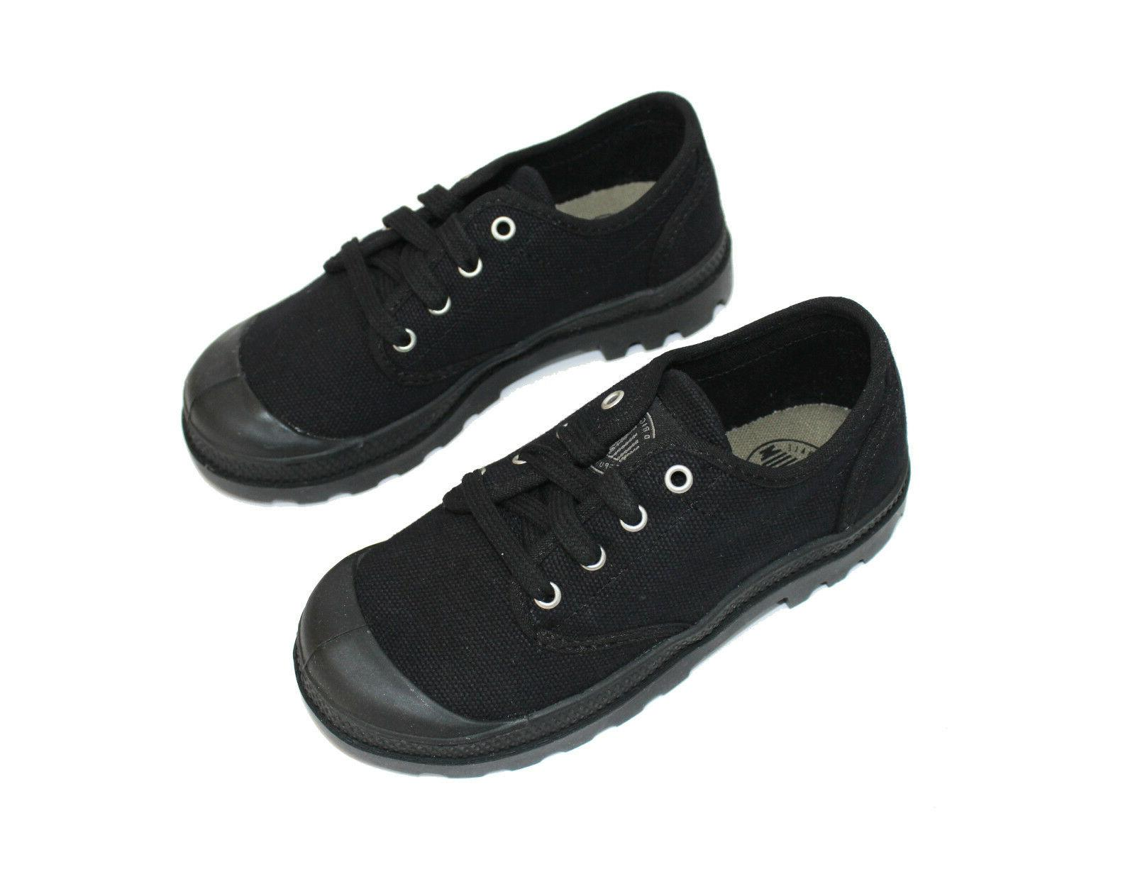 NEW Black Canvas Pampa Shoes 12.5,