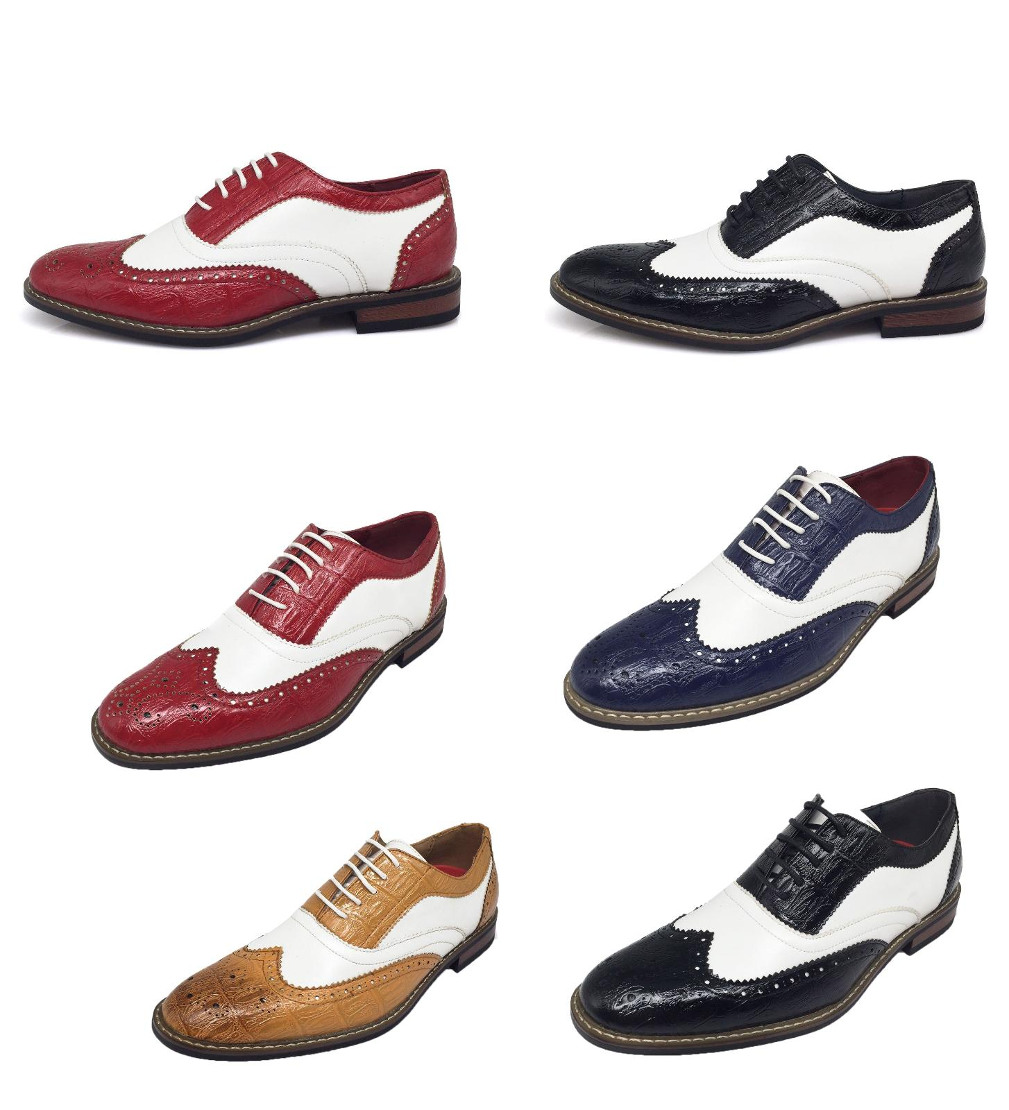 new men dress shoes wingtip oxford 2