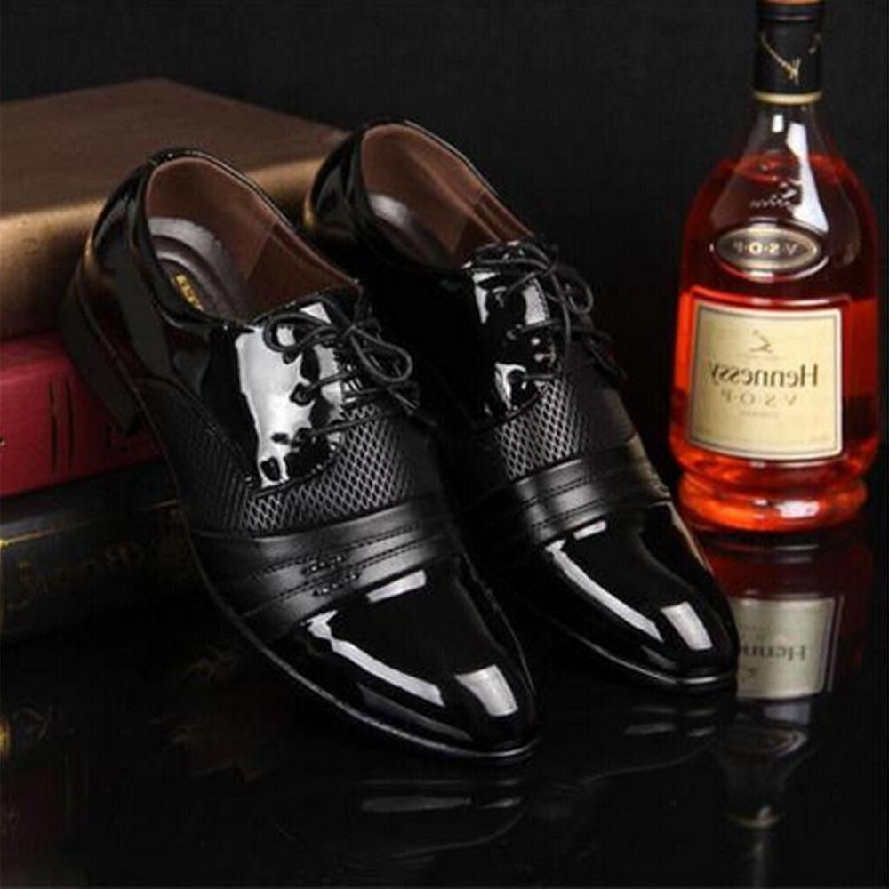 New Men Oxford Dress Shoes Fashion Business