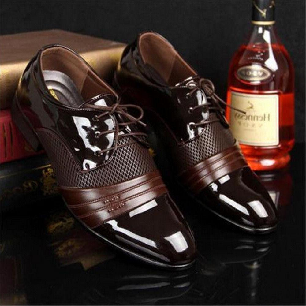 New Formal Leather Oxford Dress Shoes Fashion