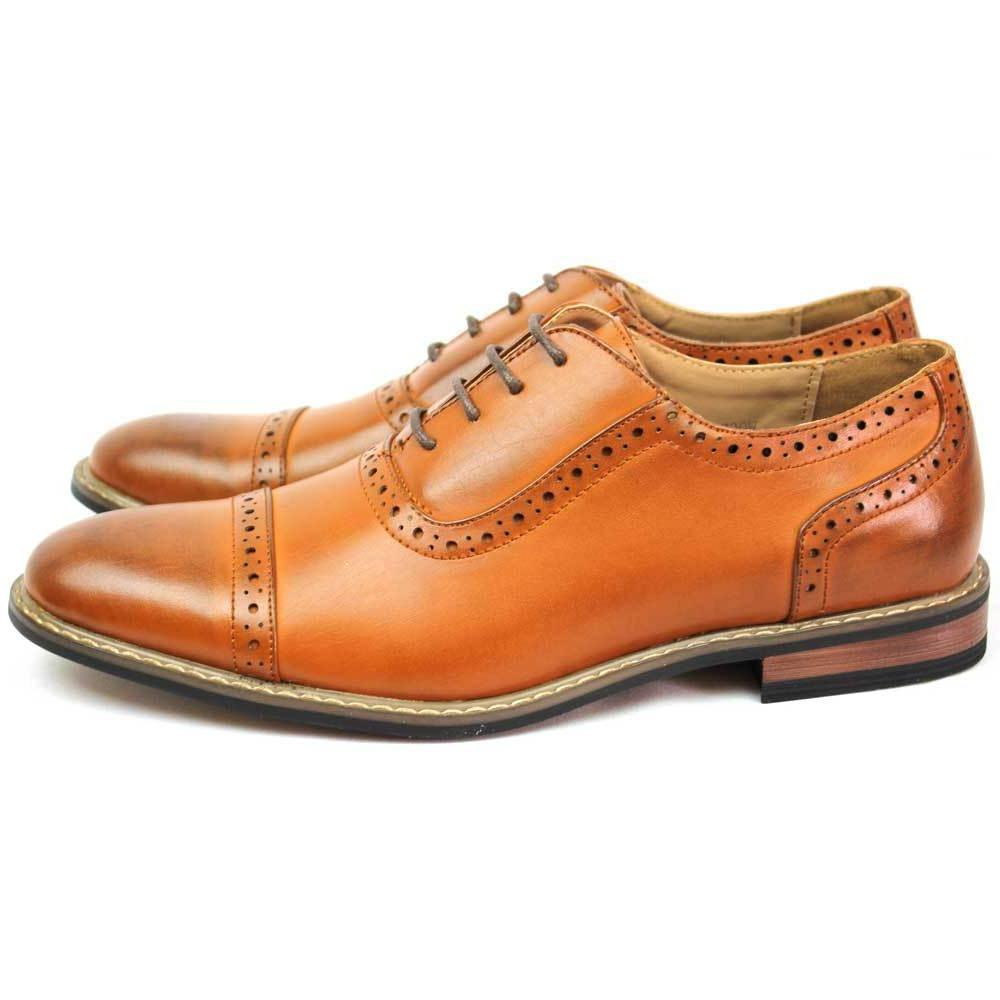 New Shoes Cap Lace Up Oxfords Lining Parrazo