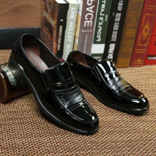 new Men's Business Casual Slip on Loafers Comfy Dress