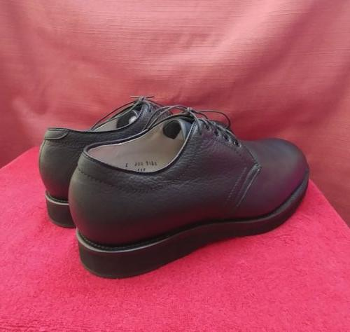 NEW Men's Alden Black Contoured Depth Toe Blutcher 9