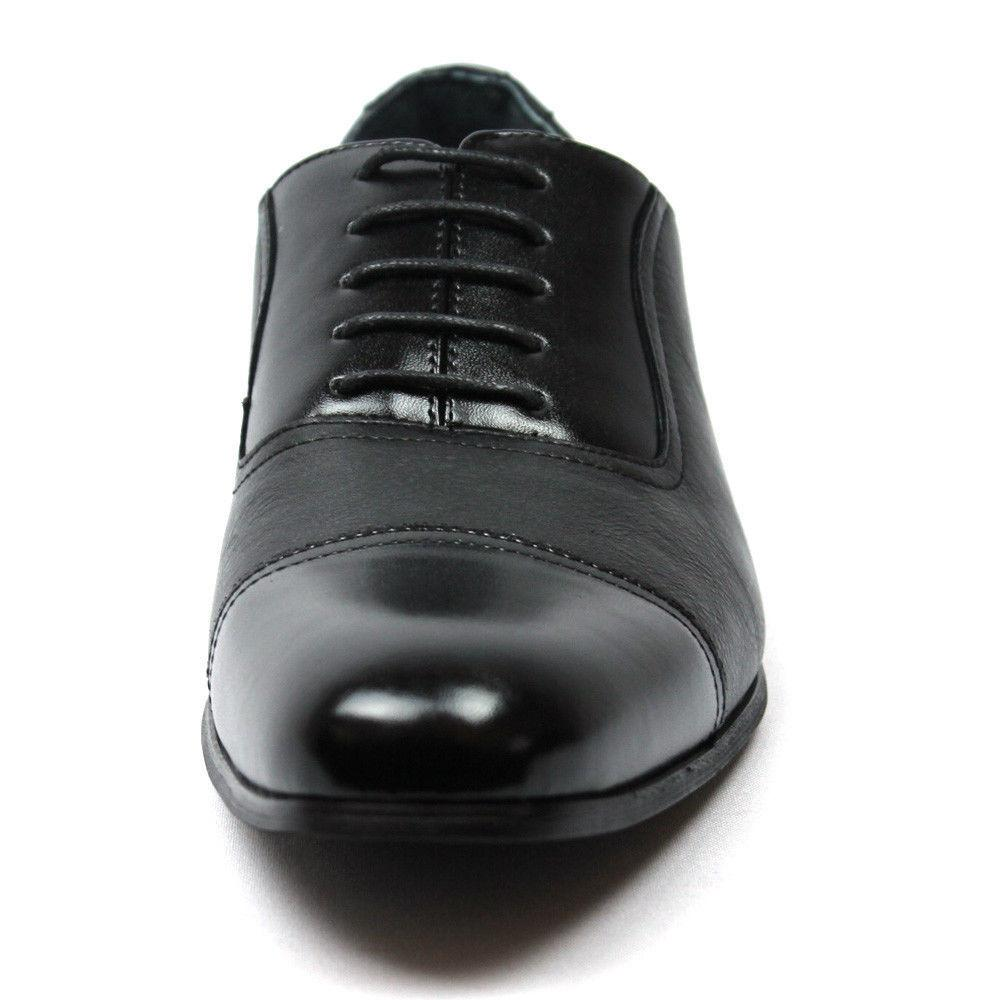 Dress Shoes Cap Lace Up Lining