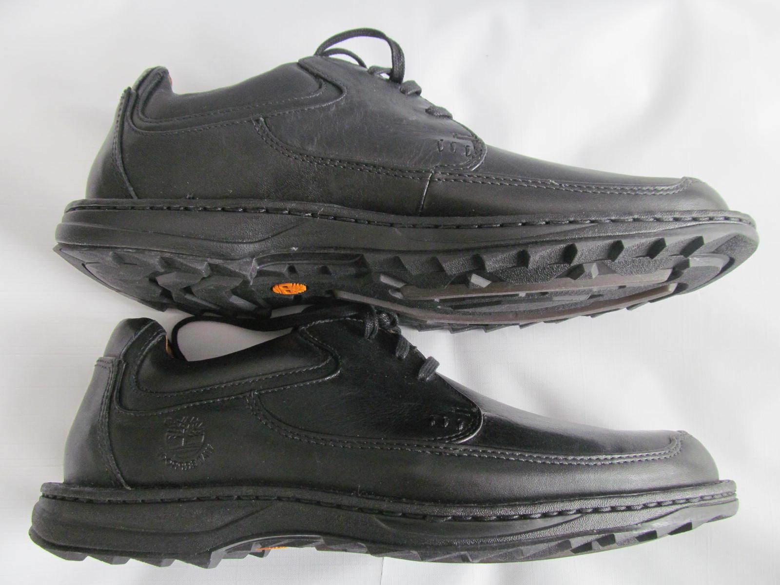 New Timberland Men's Oxford Shoes Black Waterproof Leather size 11/11.5