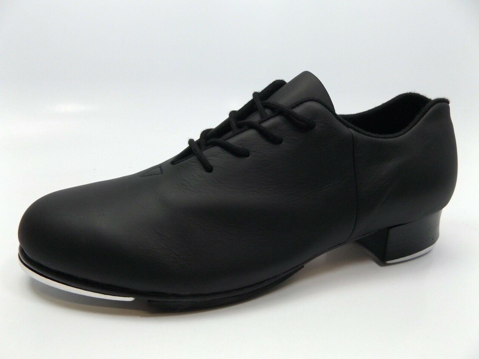 New Black Audeo Tap Leather Oxford tap Shoes 8.5 14262