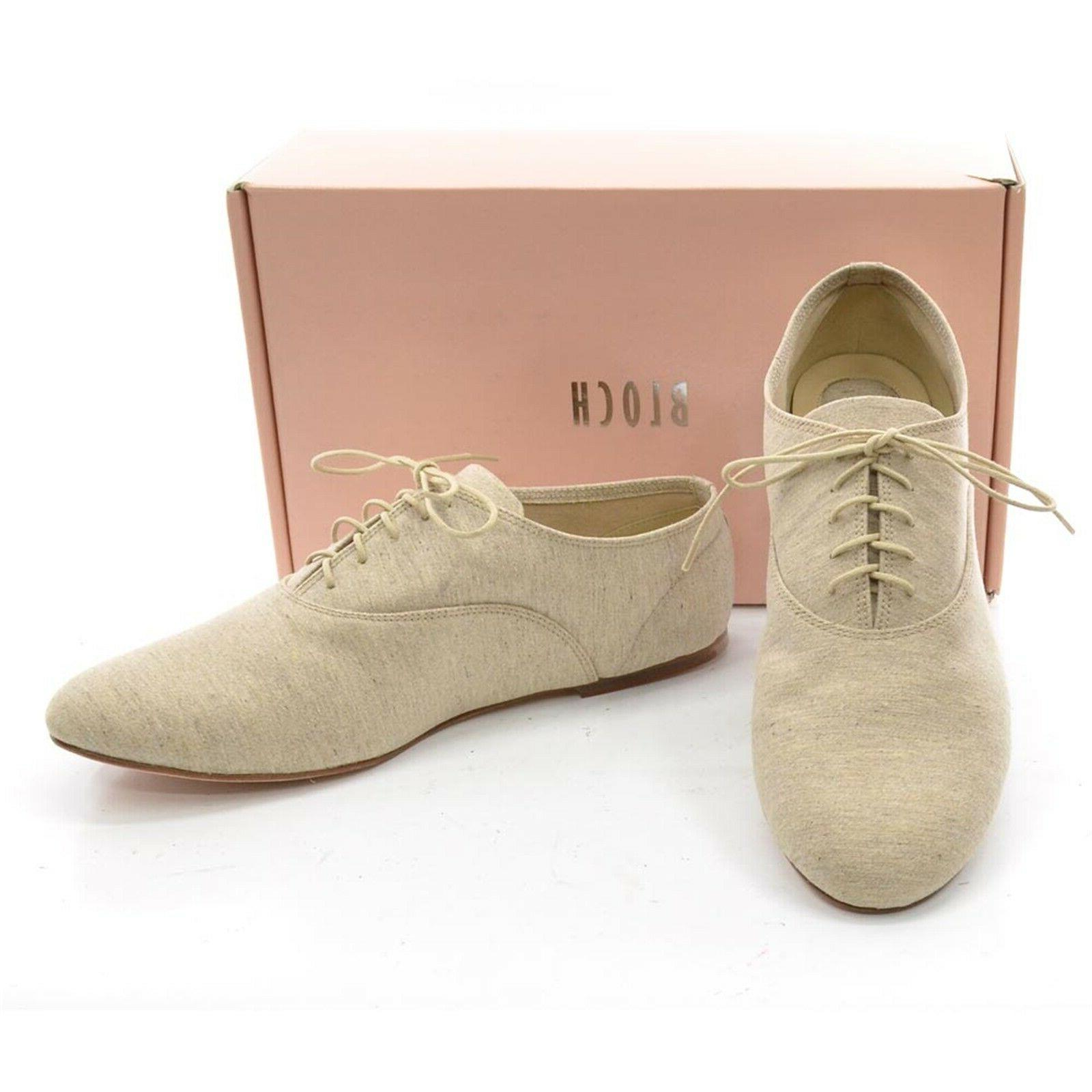 BLOCH OXFORDS 40 / Canvas Shoes in