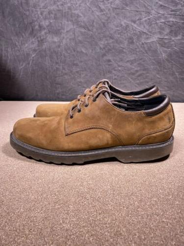 Rockport Northfield Brown Leather Lace-Up Shoes Waterproof