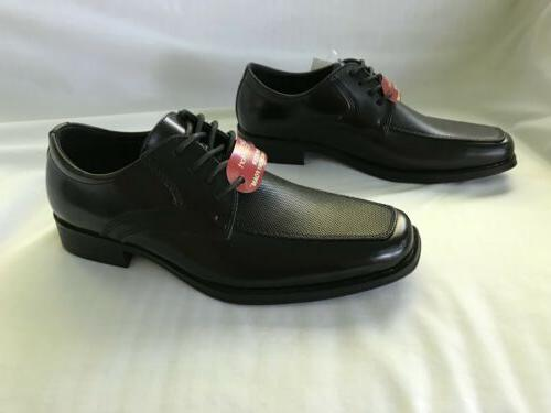 NWT Men's Dexter Spencer Size 6 Black Memory Foam Shoes