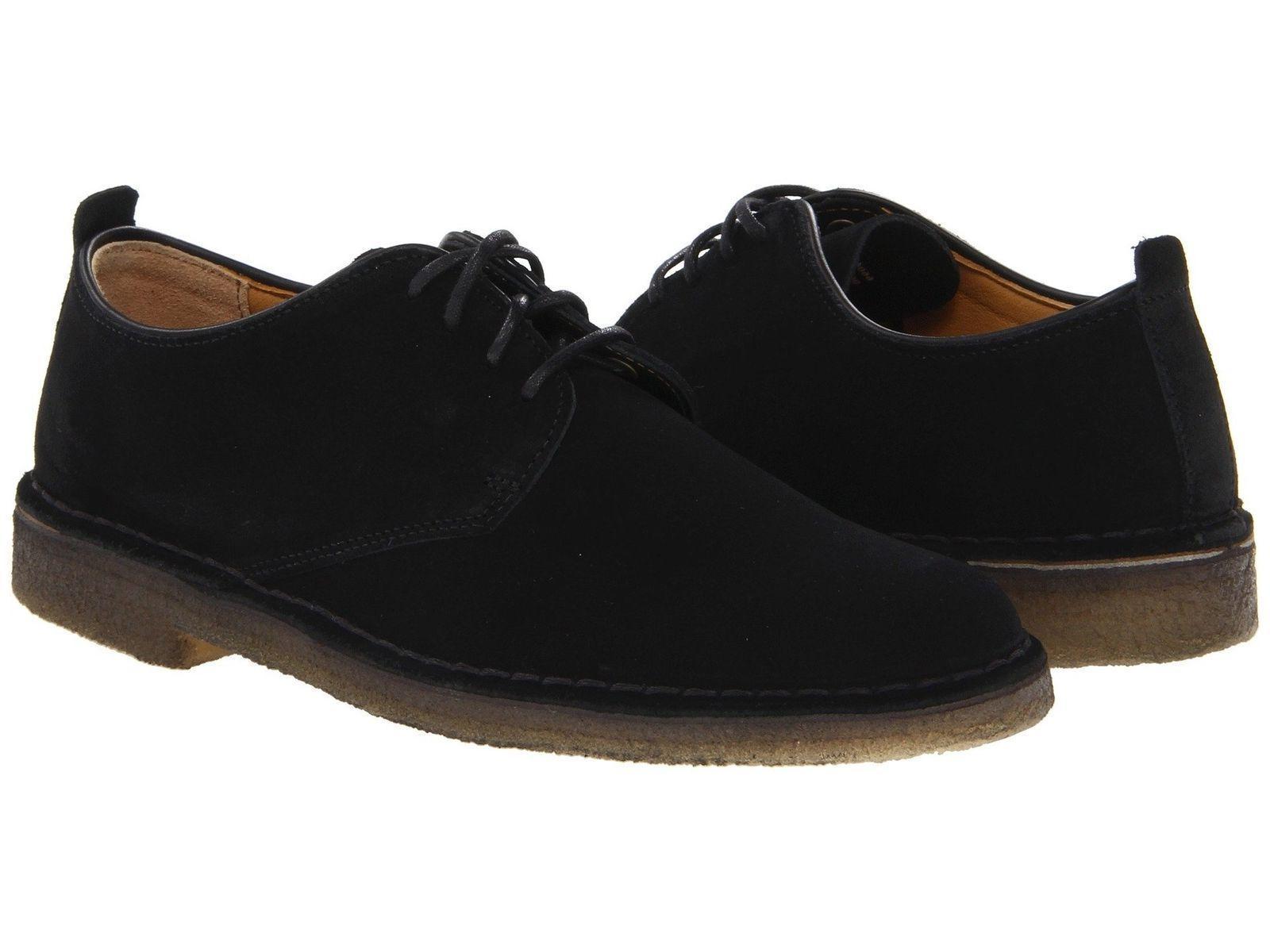 Clarks Originals Desert London Black Shoes