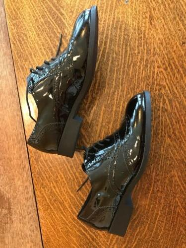 Wanted Faux Leather Black Ladies Dress Shoes 8 1/2 Career Wear