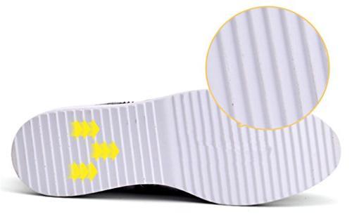DADAWEN Women's Platform Wingtips Square Toe Shoe 9/Asia Size 41/25.5cm